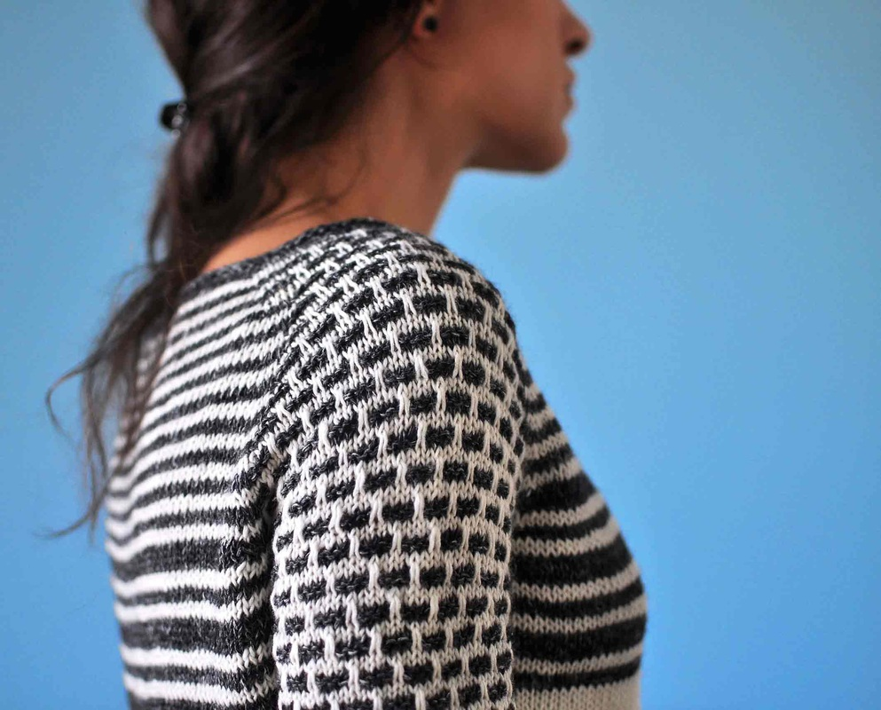 DrawingStraws Pullover Pattern, by La Maison Rililie Designs