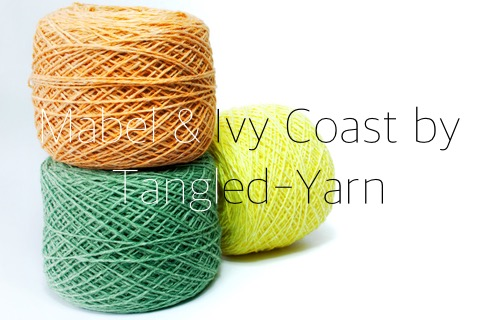Mabel & Ivy Coast, by Tangled-Yarn UK