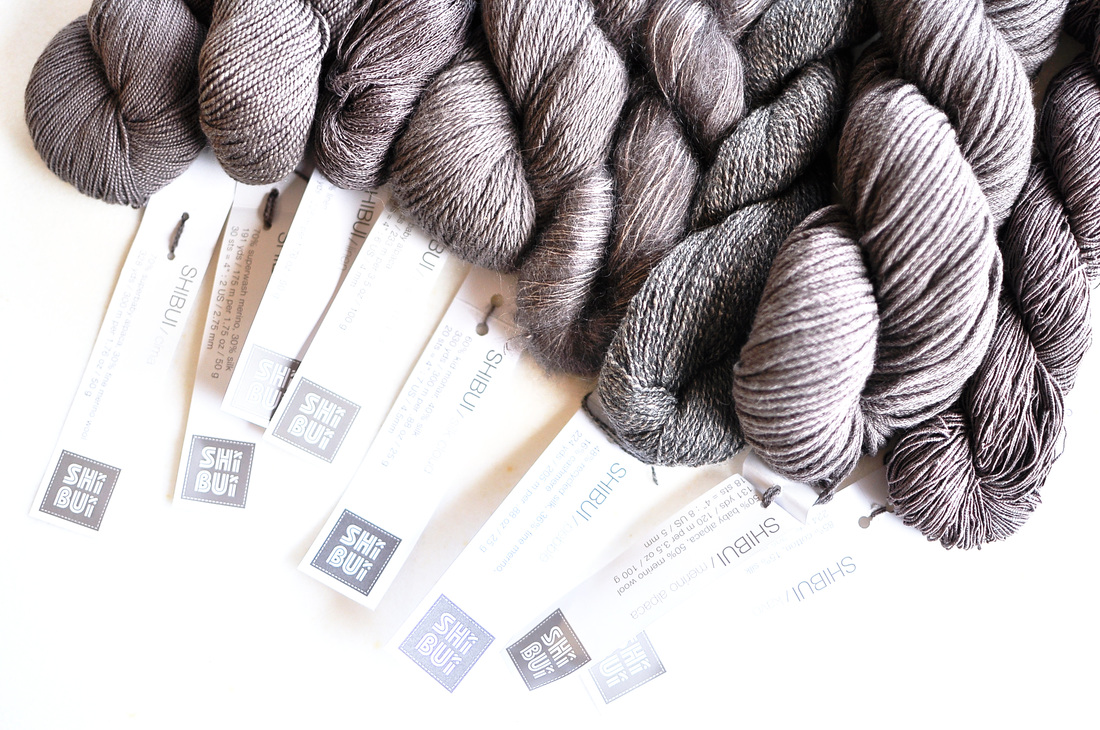 Shibui Yarn Selection - on knittingtherapy by Rililie