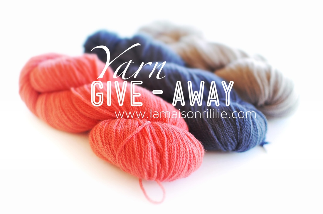 Shibui Maai give-away on knittingtherapy by Rililie