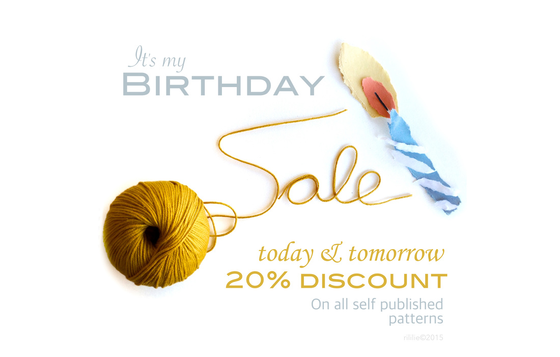 Rililie's annual Birthday Sale 2015