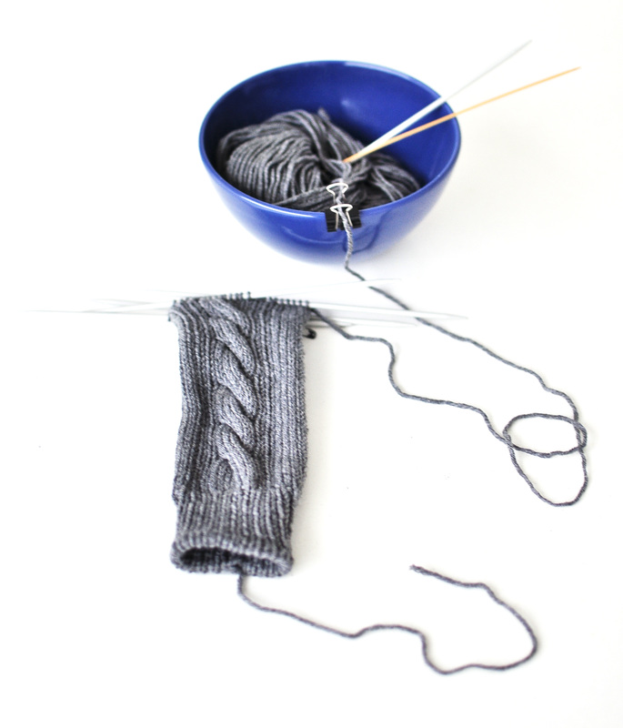 SoftCables + DIY Yarn Bowl