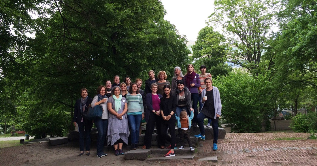 Sunday-Workshop group Rililie, BerlinKnits2015