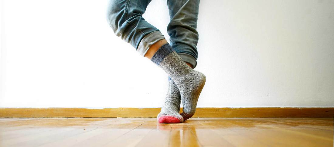 The easiest hand knitted sock ever - with a guaranteed fit! - La ...