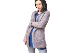BeauB Cardigan, by La Maison Rililie Designs