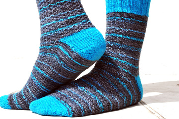 Free Knit Pattern: Toe-up Sock Recipe by La Maison Rililie
