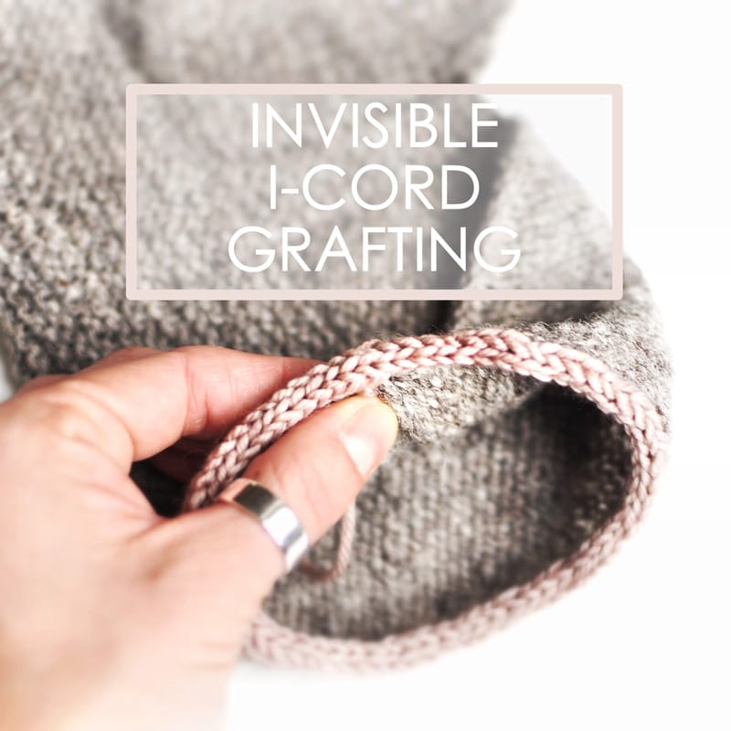 graft the ends of an i-cord invisibly together - a tutorial by Rililie