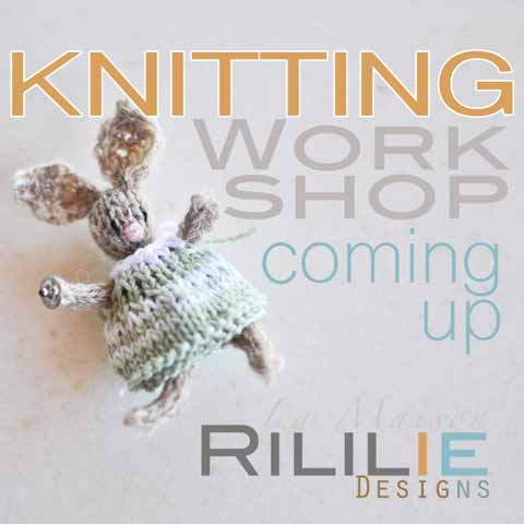 More Info on upcoming Workshop by La Maison Rililie on knittingtherapy