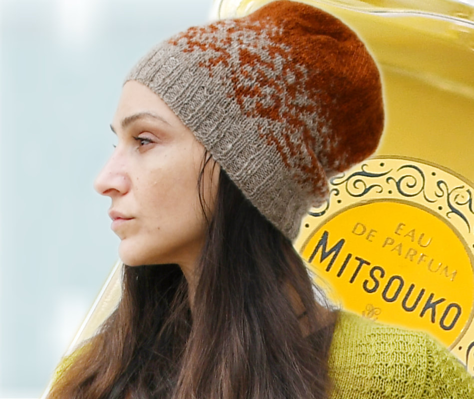 Mitsouko+Mitsouko's Lover, a customizable hat pattern by La Maison Rililie Designs