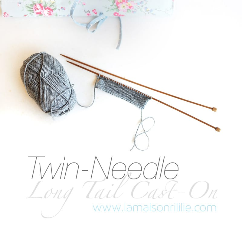 the twin needle long tail CO - a tutorial by Rililie